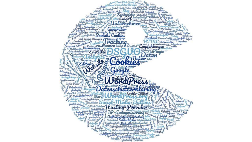 Wordcloud DSGVO
